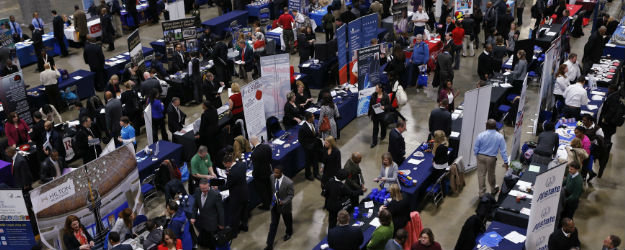In U.S., Quality Jobs Outlook Best in More Than Six Years