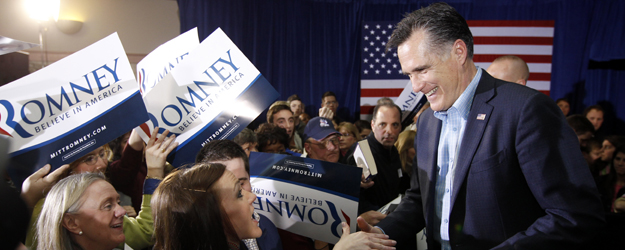 Romney Has 23-Point GOP Lead Nationally