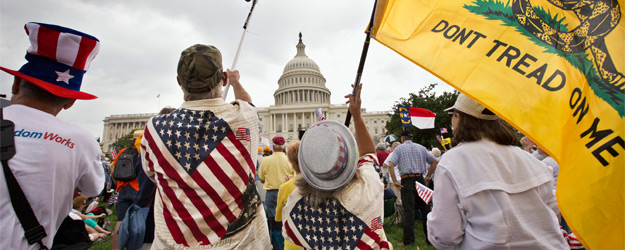 Tea Party Support Dwindles to Near-Record Low