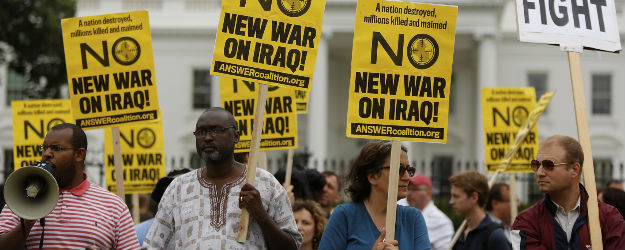 Support for Iraq Military Action Low in Historical Context