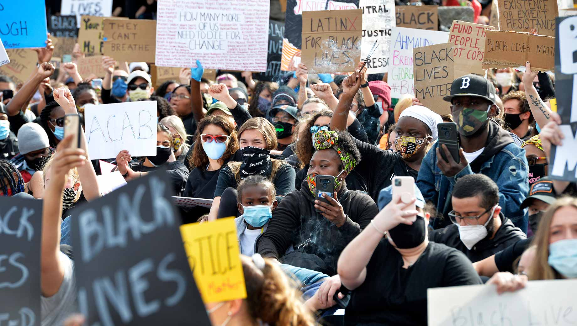 More in U.S. Believe Protest Actions Can Aid Black Adults