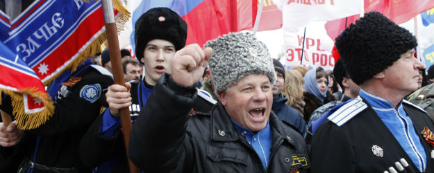 Russians Back Strong Stance on Ukraine