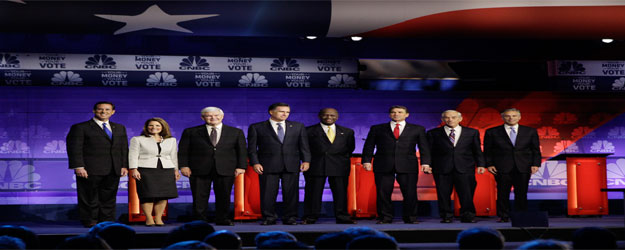 GOP 2012 Battle to Date Most Akin to Dems in 2003