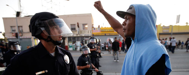 In U.S., 24% of Young Black Men Say Police Dealings Unfair