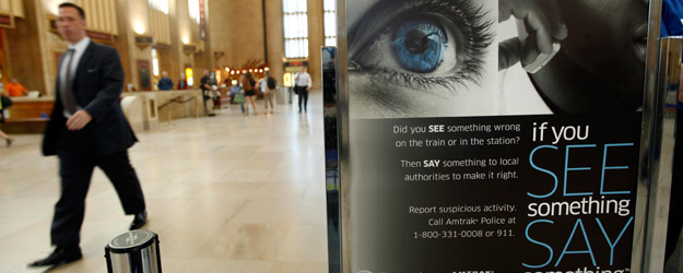 'See Something, Say Something' Unfamiliar to Most Americans