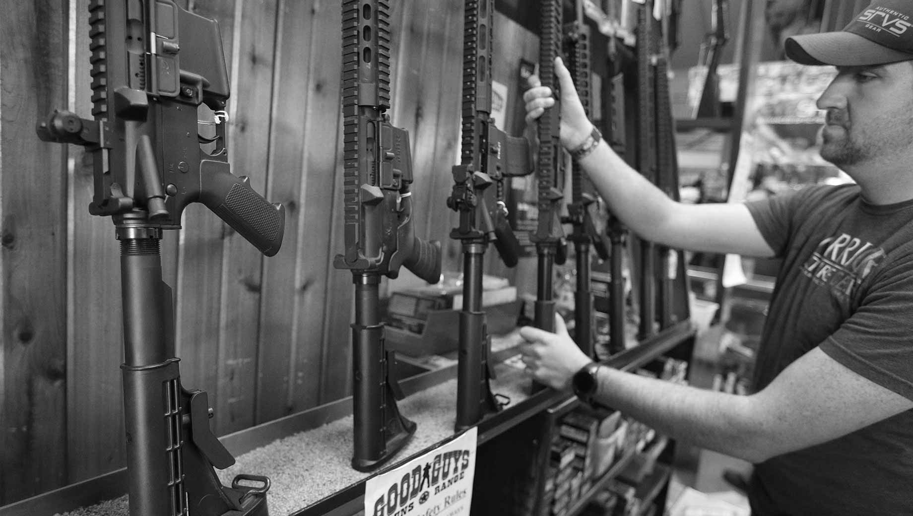 Snapshot: Majority in U.S. Now Oppose Ban on Assault Rifles