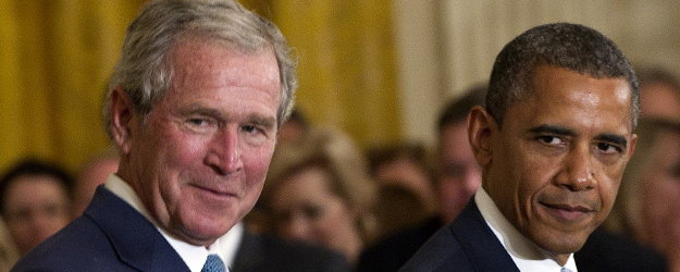 Americans Still Blame Bush More Than Obama for Bad Economy