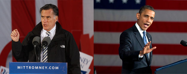 Voters Equally Favorable to Romney, Obama