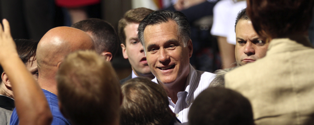 Romney Registers Personal Best 50% Favorable Rating