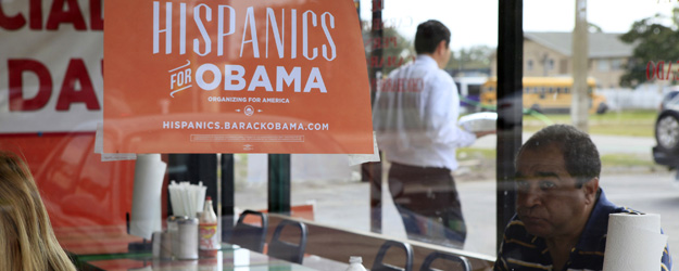 Hispanics' Approval of Obama 70%, Up 12 Pts. Since August