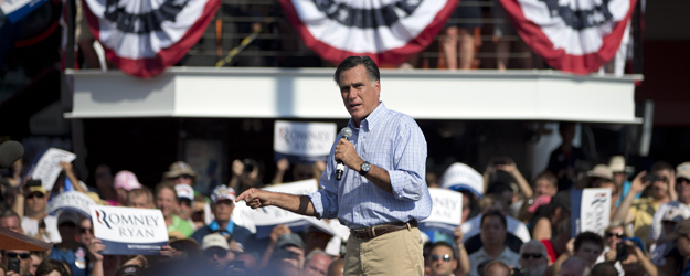 Romney Gets No Bounce From Last Week's GOP Convention