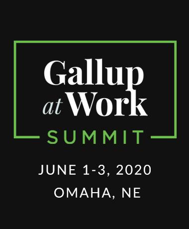 Gallup at Work Summit
