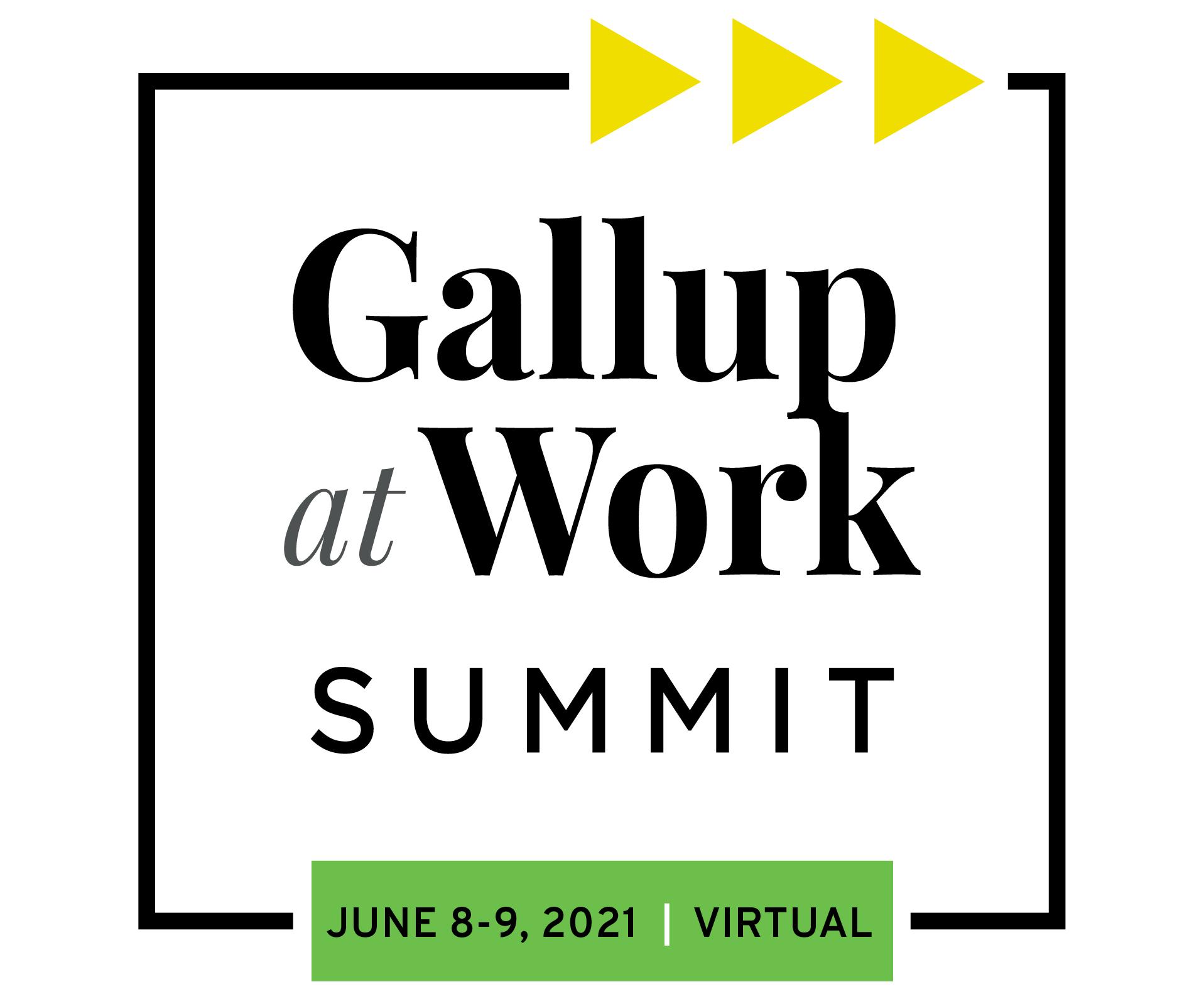 2021 Gallup at Work Summit