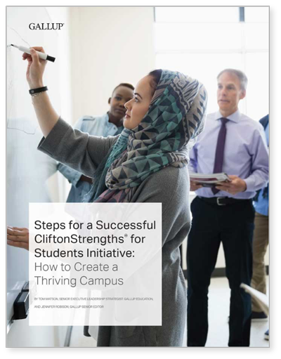 Steps for a Successful CliftonStrengths Initiative: How to Create a Thriving Campus