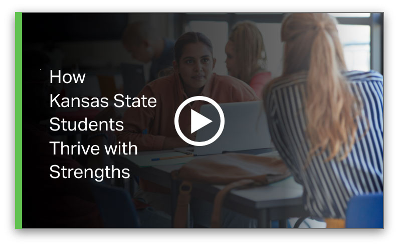 Play How Kansas State Students Thrive With Strengths Video