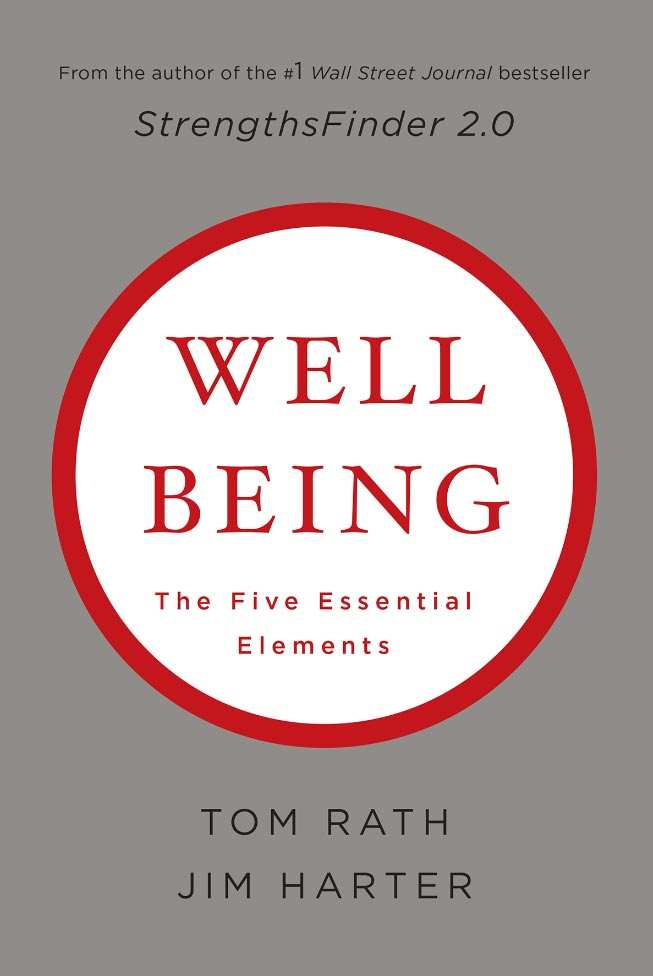 The cover of Gallup's book Well Being