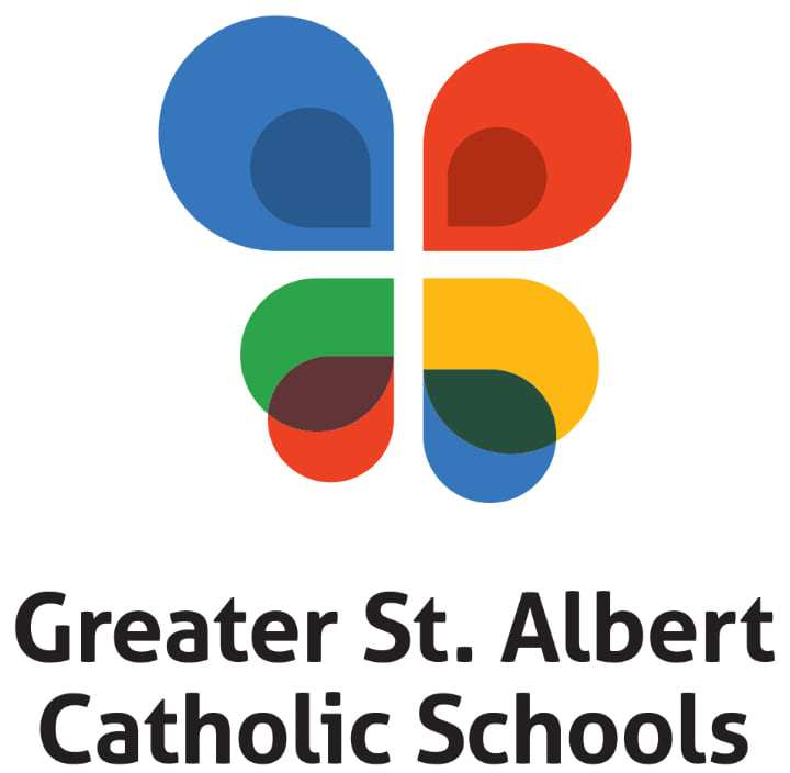 Greater St. Albert Catholic Schools Logo