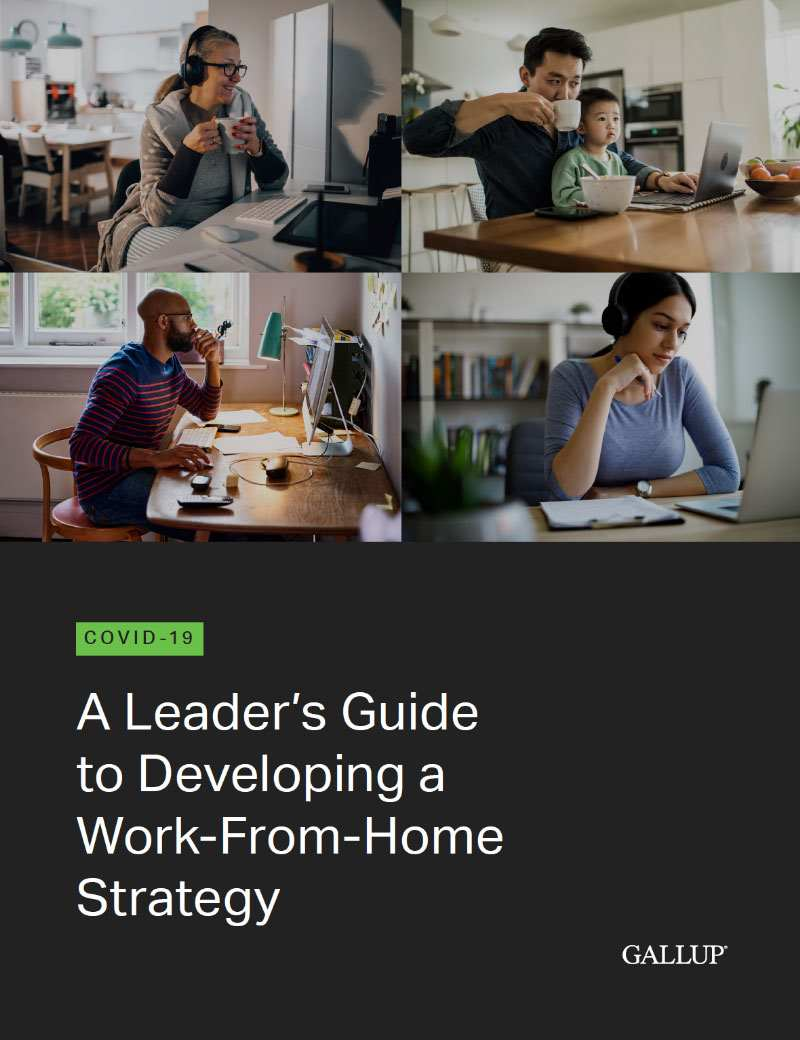 Cover of COVID-19: A Leader's Guide to Developing a Work-From-Home Strategy