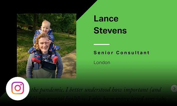 Gallup associate Lance Stevens who is a senior consultant in London.