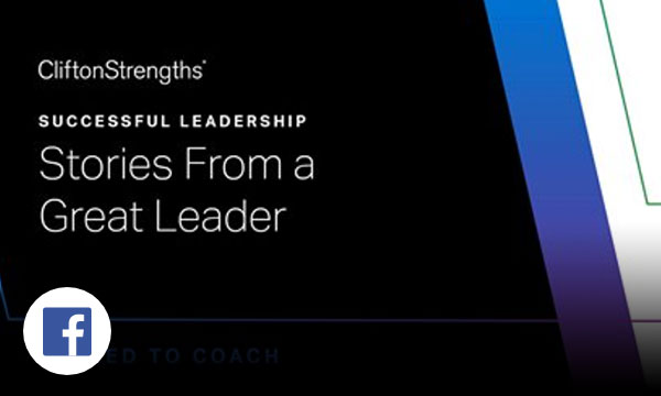 Black background with white text successful leadership Stories From a Great Leader called to coach.