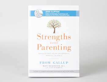 Strengths Based Parenting book cover