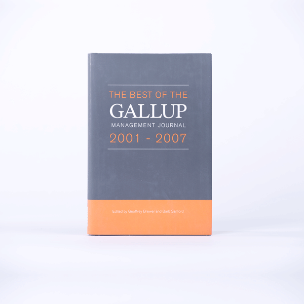The Best of the Gallup Management Journal