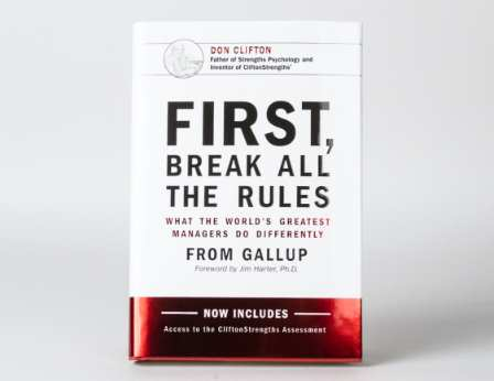 First, Break All the Rules book cover