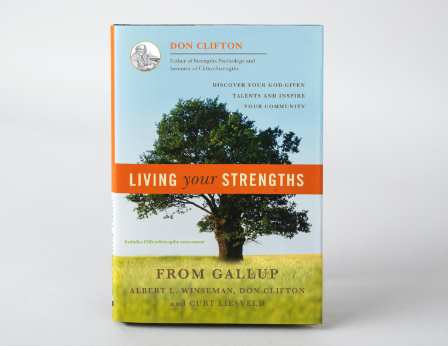 Living Your Strengths book cover