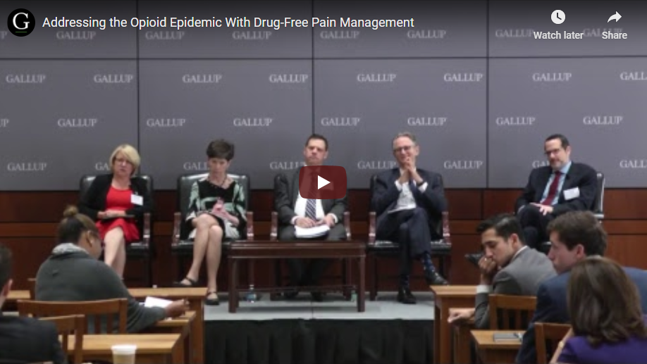 Play video: Addressing the Opioid Epidemic With Drug-Free Pain Management